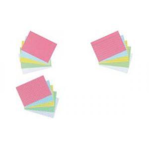 10901494 - Etui de 100 fiches bristol 170 g/m², format A7, quadrillée 5x5, vert