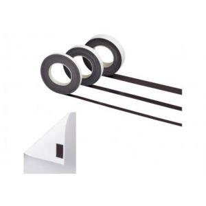 61574-09 - Bande magnétique auto-adhésive, 15 mm x 10 m