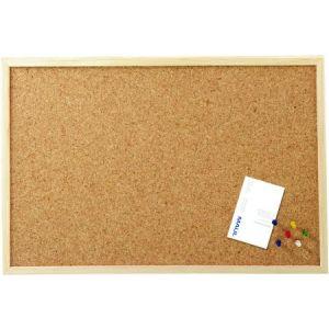 27061-70 - Tableau liège, cadre MDF plaqué, 60x100 cm