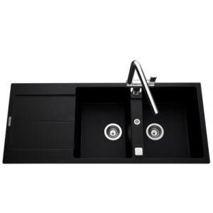 evier quartz 2 bacs comparer 155 offres. Black Bedroom Furniture Sets. Home Design Ideas