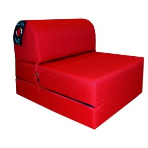 Chauffeuse L.75 cm 2 IN 1 rouge