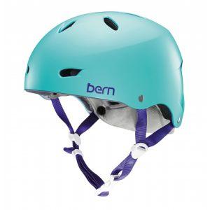 Bern Brighton EPS - Casque BMX Femme - Thin Shell violet/turquoi 52-55,5 cm Casques BMX / Dirt