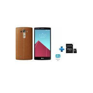 LG G4 Cuir camel LG G4 CUIR CAMEL   KINGSTON 32GB microSDHC Class 10 UHS I 45MB/s Read Card   SD Adapter SDC10G2/32GB