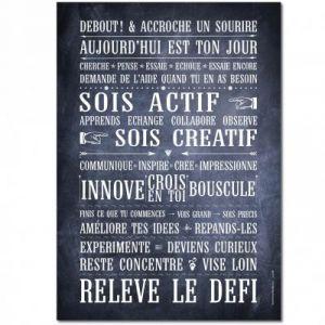 Carte Relève le Défi (15 x 21 cm)