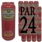 Pack Kellegen 4.5°  50cl x24 - Pack Kellegen 4.5° 50cl x24 canette - Bière Blonde Pur Malt - origine France 24x 50cl