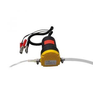 Pompe de vidange électrique 12V - Permet de pomper l'huile du moteur, le gazoil, le mazout
