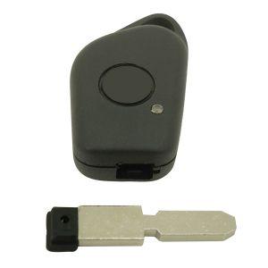 Coque de clé télécommande adaptable pour PEUGEOT + Lame
