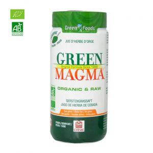 Green Magma Jus d'herbe d'orge bio en poudre 150g