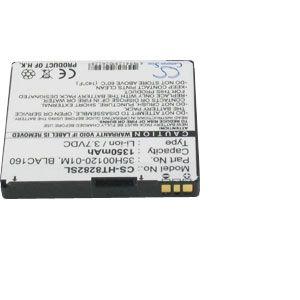 Batterie pour HTC TOUCH HD T8282