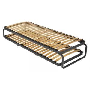Lit gigogne métallique - Dimension : lits-sommiers-pratiques