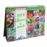 Manuel '100% bricos du monde : 30 créations originales pour faire le tour du monde'