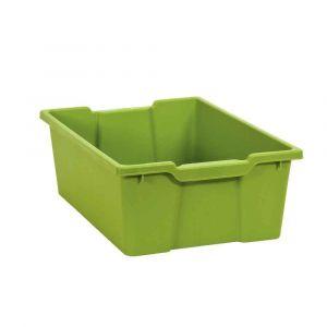 Bac en plastique grand modèle vert