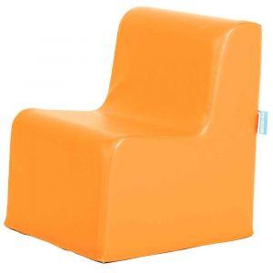 Chauffeuse simple - Orange