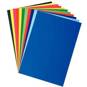 Feuilles affiche 80g - 60x80 cm - Bleu ciel - Paquet de 25