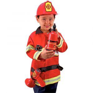 Déguisement 'pompier' + accessoires