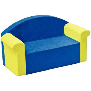 Maxi Sofa - Bleu foncé et vert