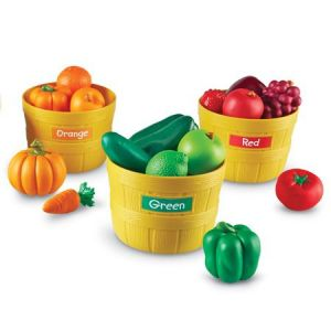 Classer les fruits par couleur