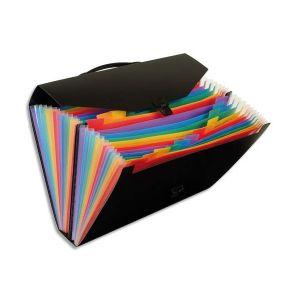 Viquel valise trieur rainbow 24 compartiements, polypropylène 10/10e,