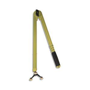SAFETOOL Compas en plastique incassable jaune 50 cm 3 pieds ventouse et porte craies marqueur tableau