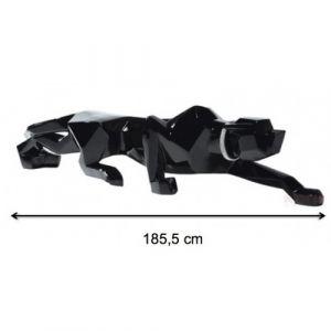 Statue déco panthère Noire 185 cm