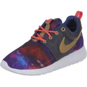 Nike Roshe One Print Gs Running chaussures violet violet 38,5 = 6,0Y EU