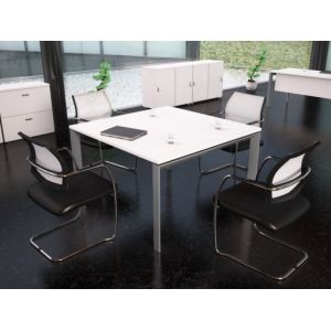table carree 160x160 comparer 71 offres. Black Bedroom Furniture Sets. Home Design Ideas