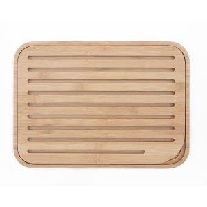 Planche à pain en Bambou alimentaire - 36 x 26 x 1,8 cm