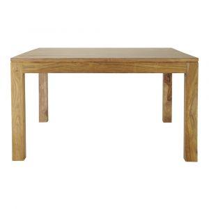 Table de salle à manger en bois de sheesham massif L 140 cm Stockholm