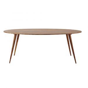 Table salle a manger ovale design comparer 33 offres for Table salle manger ovale bois massif