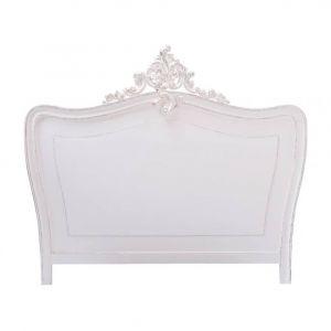 Tête de lit en bois blanche L 160 cm Comtesse
