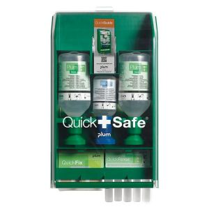 Coffret lavage oculaire Quicksafe Box Industrie