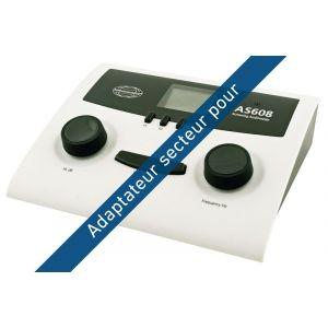 Adaptateur secteur pour l'audiomètre AS608.