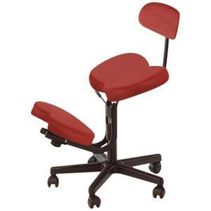 Tabouret assis-genoux avec dossier