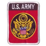 Insigne US Army rectangulaire