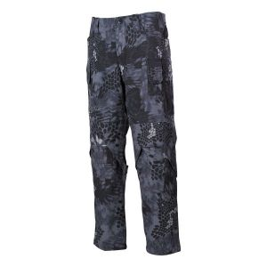 Pantalon de combat Mission snake noir