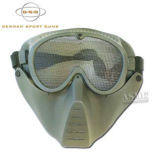 Masque Airsoft GSG kaki