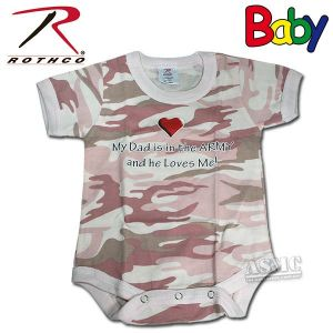 Body Rothco My Dad rose-camo