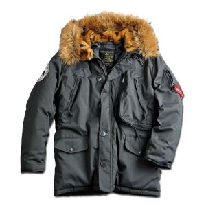 Veste polaire Alpha Industries repl. grise