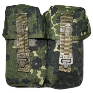 Porte chargeurs double TacGear camo danois