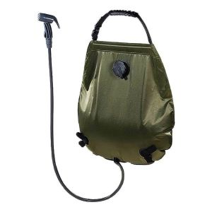 Douche solaire Deluxe 20 litres olive