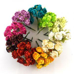 Petit Bouquet de 12 Roses - Rouge