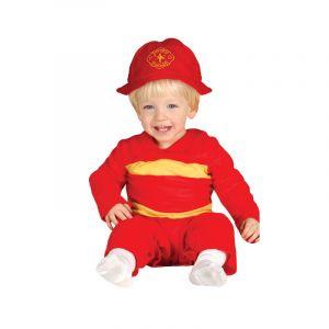 Déguisement Enfant Pompier - 6/12 mois