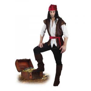 Déguisement de Pirate Ténébreux Homme - XL