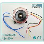 Transformateur bobine 12v de type ac for Transformateur 12v piscine