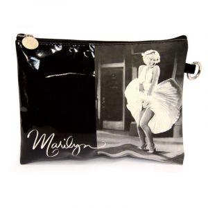 Trousse Marilyn 21x16,5 cm Noir - Paris Prix