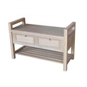 banc coffre 80 cm comparer 85 offres. Black Bedroom Furniture Sets. Home Design Ideas