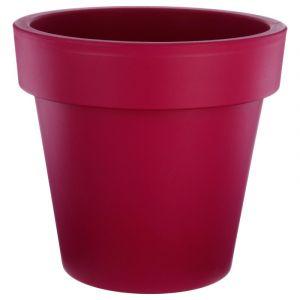 """Pot de Fleurs Plastique """"""""Felicia"""""""" 50cm Framboise"""""""