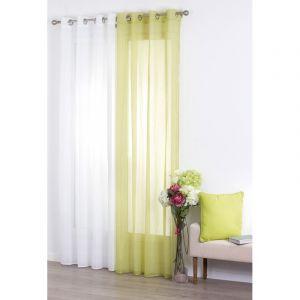 voilage vert anis comparer 62 offres. Black Bedroom Furniture Sets. Home Design Ideas