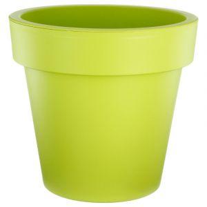 """Pot de Fleurs Plastique """"""""Felicia"""""""" 50cm Vert - Paris Prix"""""""
