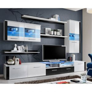 Etagere murale 120cm comparer 453 offres for Meuble tv mural 3 suisses